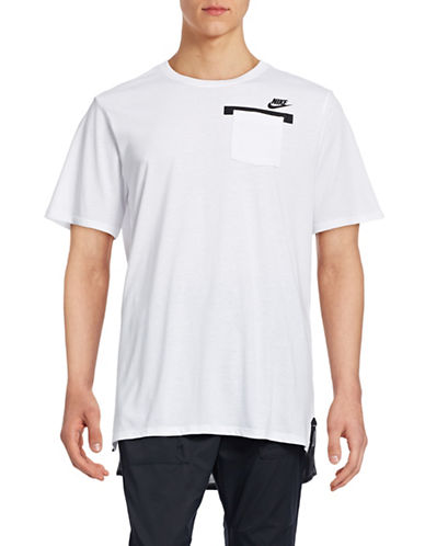 Nike Badlands Pocket T-Shirt-WHITE-X-Large 88834358_WHITE_X-Large