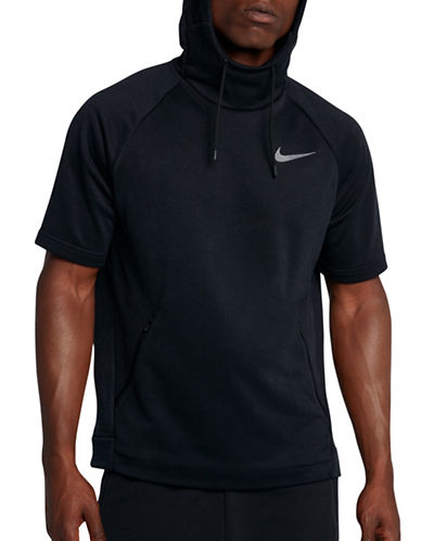 Nike Dri-Fit Training Hoodie-BLACK-Medium