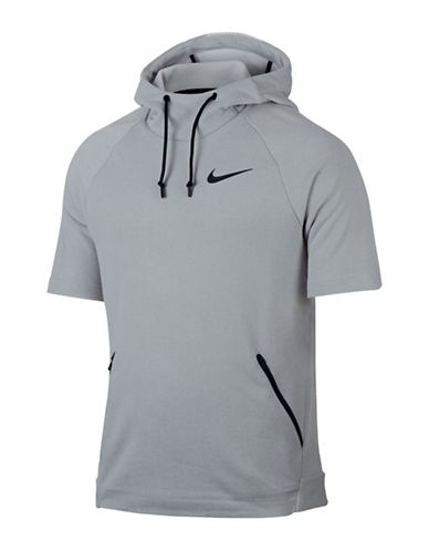 Nike Dri-Fit Training Hoodie-GREY-X-Large 89576167_GREY_X-Large