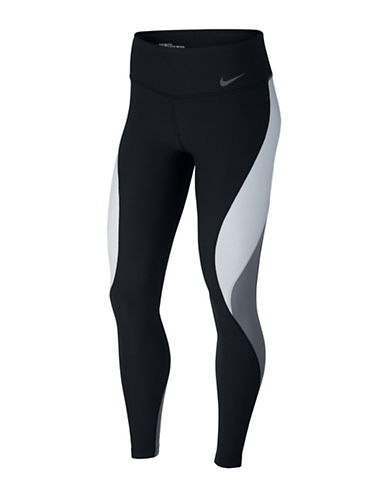 Nike Power Legendary Tights-BLACK-Large