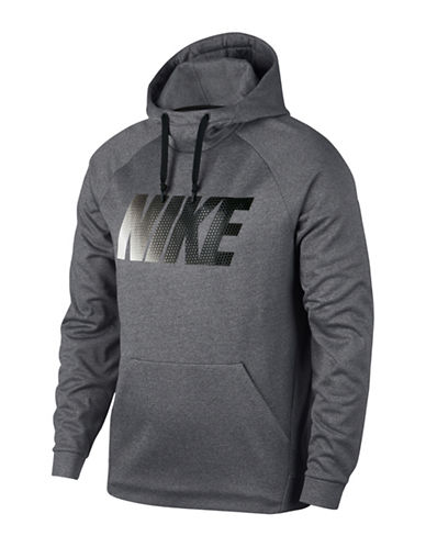 Nike Therma Training Hoodie-GREY-X-Large
