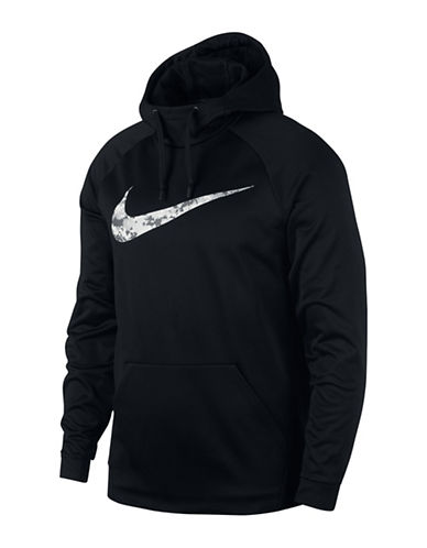 Nike Therma Training Hoodie-BLACK-Large