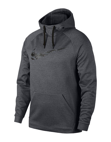 Nike Therma Training Hoodie-GREY-Small