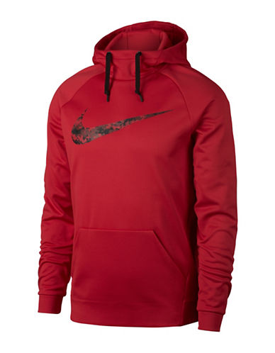 Nike Therma Training Hoodie-RED-Small 89407638_RED_Small