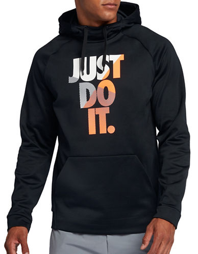 Nike Therma Training Hoodie-BLACK-Small