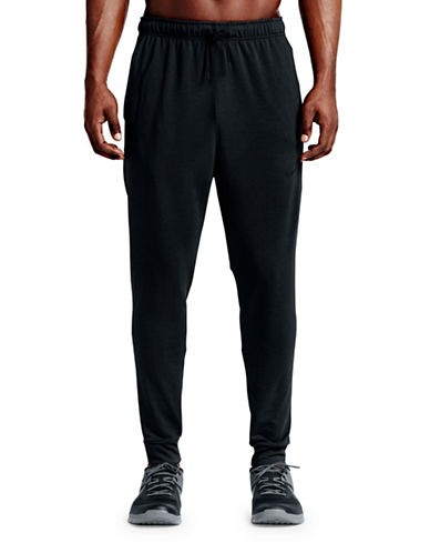 Nike Dry Training Pants-BLACK-Medium