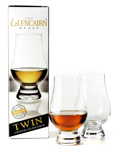 Glencairn Set of Two Scotch Glasses-CLEAR-One Size