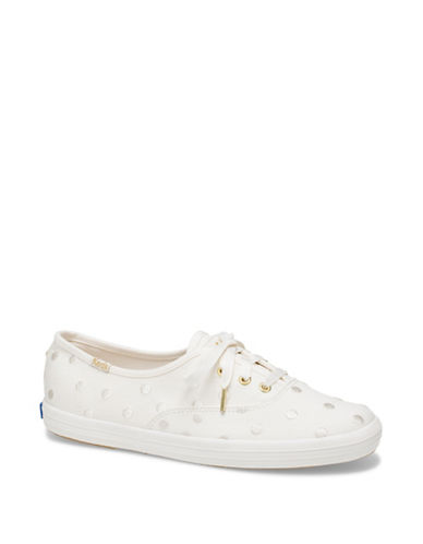 Womens Champion Kate Spade Dancing Dot Canvas Sneakers by Keds
