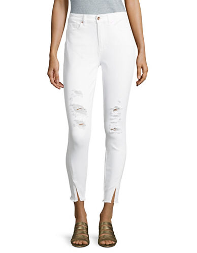 Highline Collective High-Rise Skinny Jeans-WHITE-31