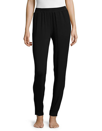 Lord & Taylor Lounge Joggers-BLACK-Large