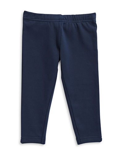 Bob Der Bar Fleecy Leggings-BLUE-18 Months