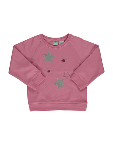 Bob Der Bar Star Patch Sweatshirt-ROSE-6X