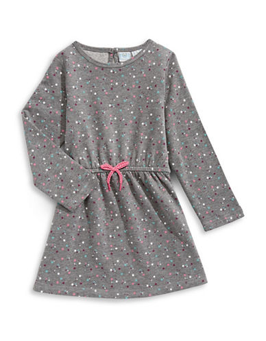 Bob Der Bar Star Sweater Dress-GREY-2T