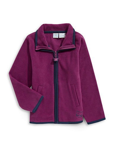 Bob Der Bar Microfleece Jacket-BERRY-5-6