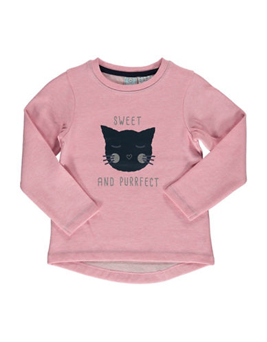 Bob Der Bar Cat Graphic Sweatshirt-ROSE-6X