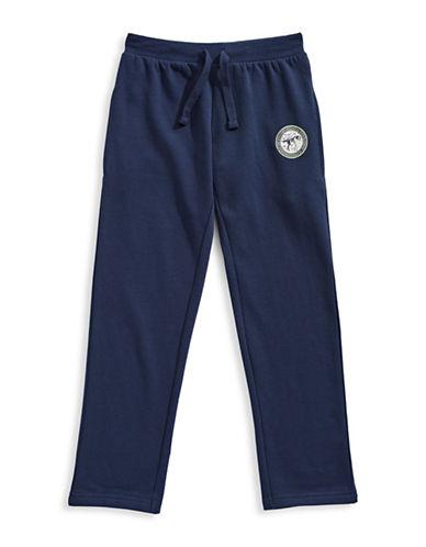 Bob Der Bar Fleece Lined Joggers-BLUE-2