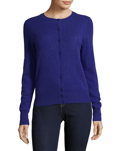 Lord & Taylor Cashmere Cardigan-PLUTO-X-Large