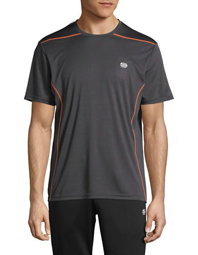 Manguun Core Tech T-Shirt-CHARCOAL-Small