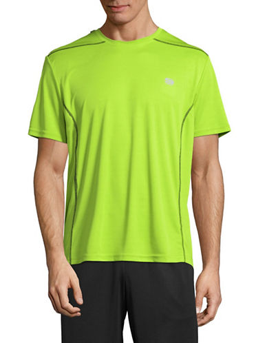 Manguun Core Tech T-Shirt-GREEN-Large