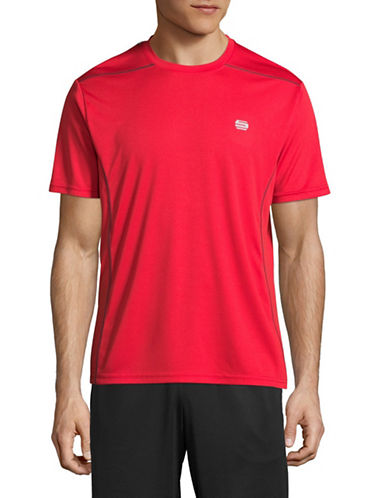 Manguun Core Tech T-Shirt-RED-Small