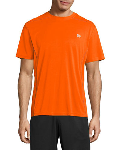 Manguun Core Tech T-Shirt-ORANGE-X-Large
