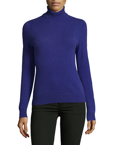 Lord & Taylor Cashmere Turtleneck Sweater-PLUTO-X-Large