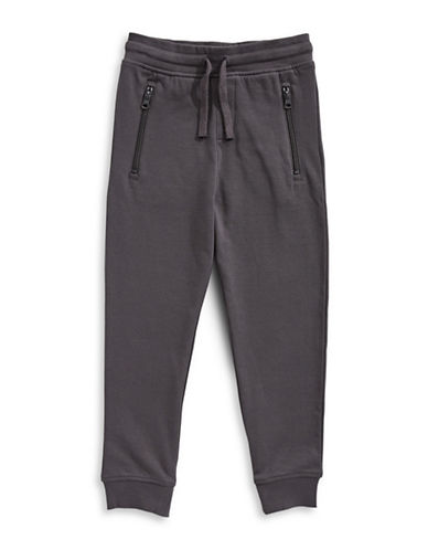 Bob Der Bar Fleece Sweatpants-GREY-4