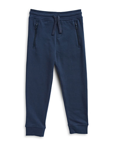 Bob Der Bar Fleece Sweatpants-BLUE-4