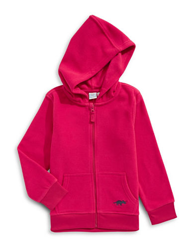 Bob Der Bar Polar Fleece Zip Hoodie-JALAPENO RED-5-6