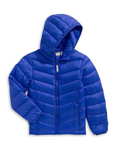 Bob Der Bar Packable Down Puffer Jacket-BLUE-2