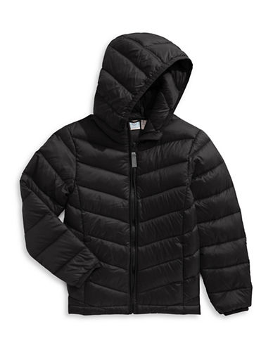 Bob Der Bar Packable Down Puffer Jacket-BLACK-4