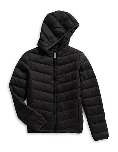 Bob Der Bar Packable Puffer Jacket-BLACK-2T