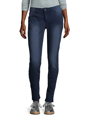 Manguun Mid-Rise Jeans-BLACK-42