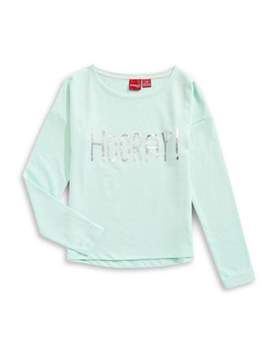 Manguun Hooray Sweatshirt-GLACIER-Small