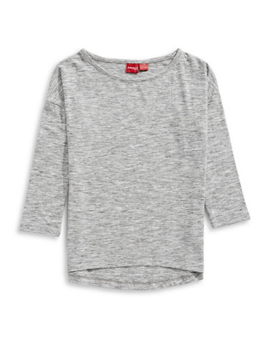 Manguun Long Sleeve T-Shirt-GREY-X-Large 89220697_GREY_X-Large
