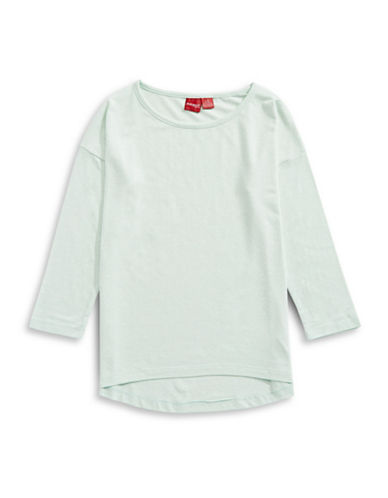 Manguun Long Sleeve T-Shirt-GLACIER-Medium