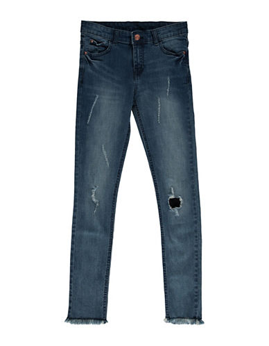 Manguun Jahre Distressed Jeans-BLUE-16