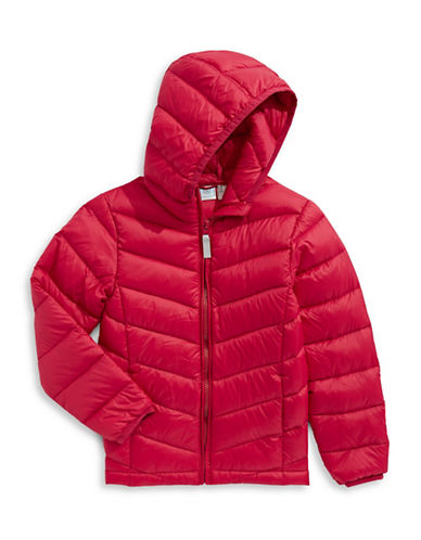 Manguun Boys Packable Puffer Jacket-RED-X-Large 89229050_RED_X-Large