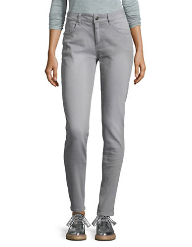 Manguun Mid-Rise Jeans-GREY-42