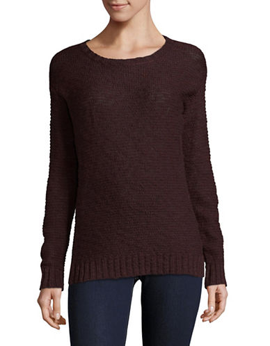Manguun Cotton Knit Sweater-FUDGE-Large
