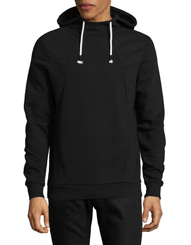 Manguun Hooded Pullover-CHARCOAL-Medium