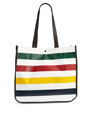 HudsonS Bay Company Baywatch by Charles Pachter Large Commuter Tote-MULTI-One Size