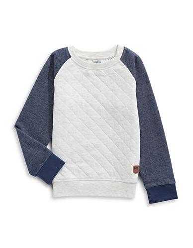 Bob Der Bar Quilted Raglan Pullover-BLUE-2