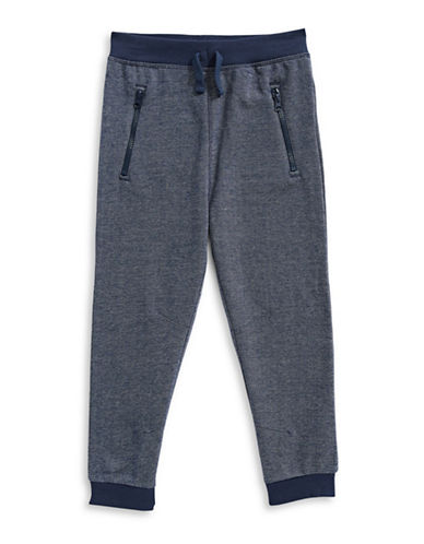 Bob Der Bar Fleece Jogger Pants-BLUE-2