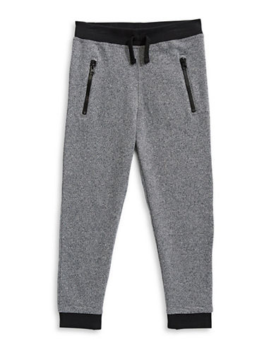 Bob Der Bar Fleece Jogger Pants-GREY-2
