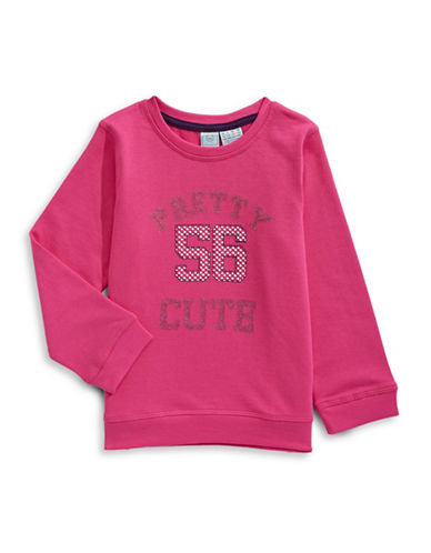 Bob Der Bar Pretty Cute Sweatshirt-PINK-3T