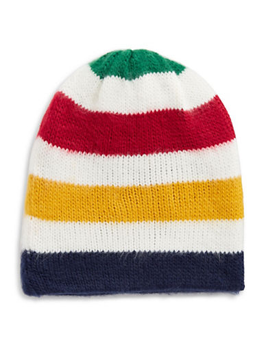HudsonS Bay Company Fuzzy Multistripe Tuque-MULTI-One Size