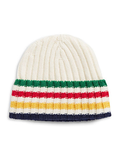 HudsonS Bay Company Silverlake Multistripe Ribbed Tuque-MULTI-One Size