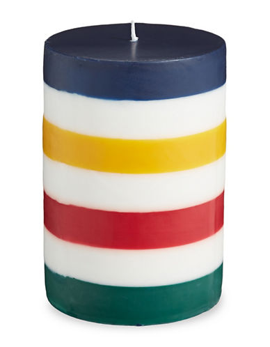 HudsonS Bay Company Pillar Candle-MULTI-One Size