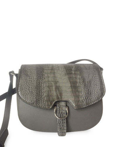 Mark Adam Magnetic Crossbody Bag-GREY-One Size